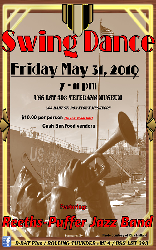 May 31 – Swing Dance – USS LST 393
