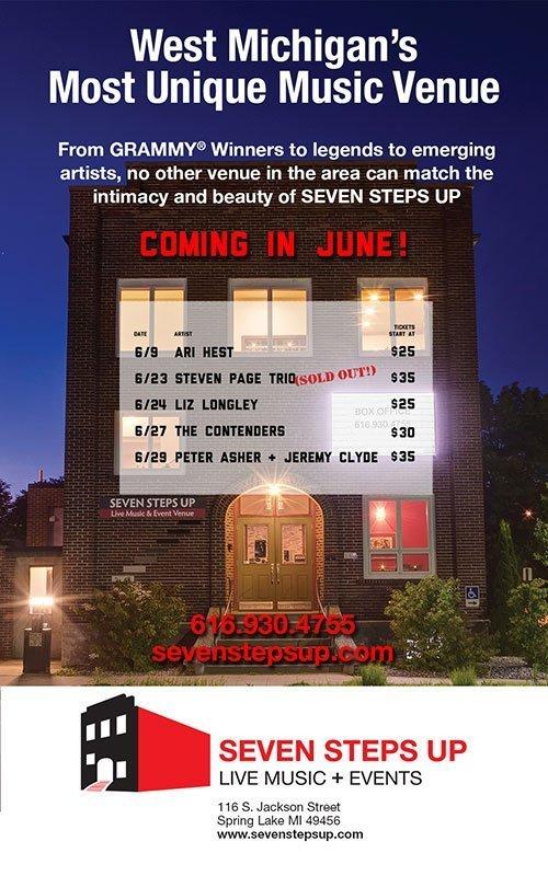 Seven Steps Up – June 2019 Concert Schedule