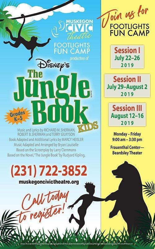 Disney's The Jungle Book 'Kids' – Muskegon Civic Theatre