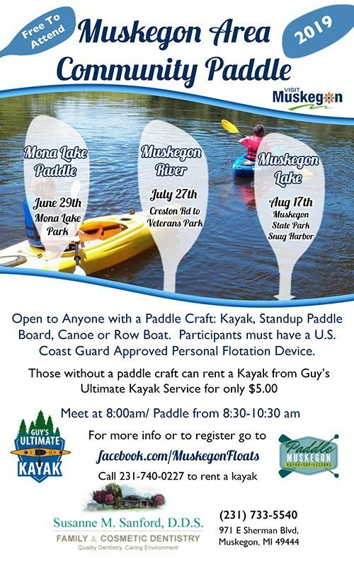 Muskegon Area Paddle