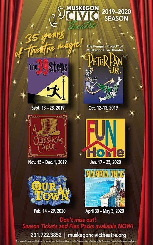 2019-2020 Season – Muskegon Civic Theatre