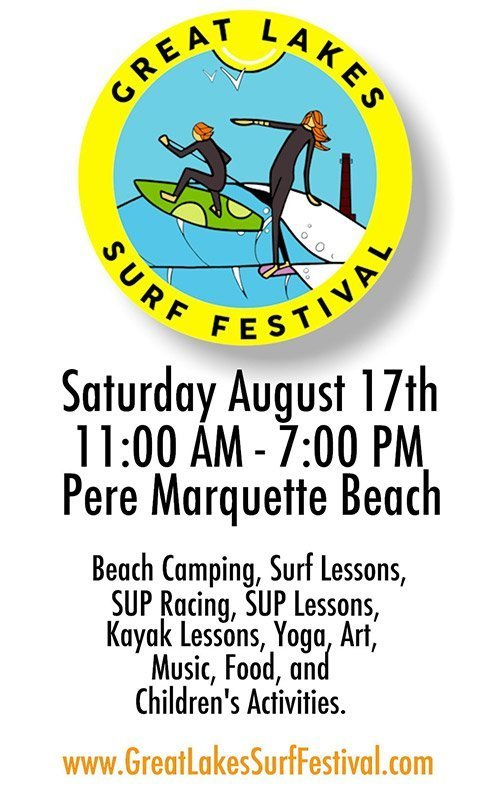 Aug 17 – Great Lakes Surf Festival
