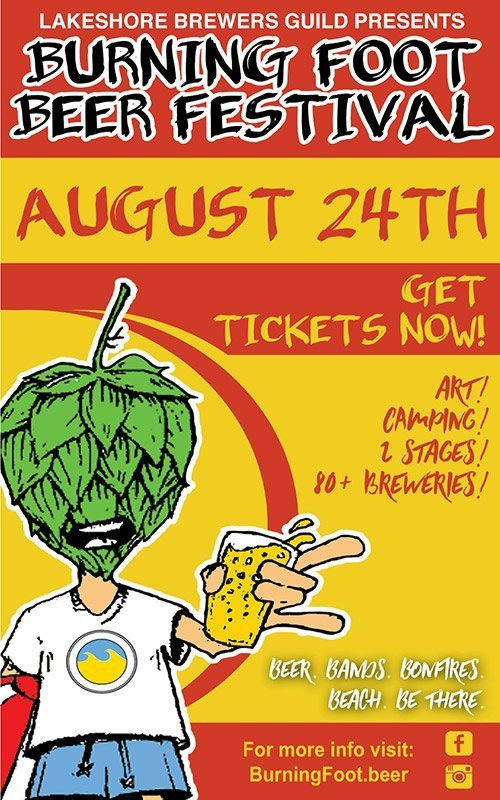 Aug 24 – Burning Foot Beer Festival