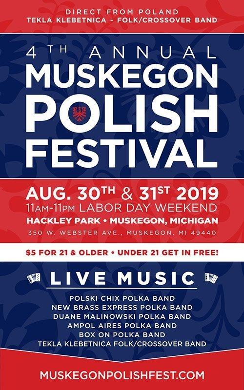 Aug 30-31 – Muskegon Polish Festival
