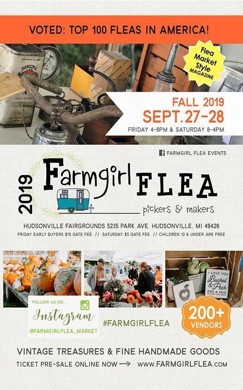 Sep 27, 28 – Fall 2019 – Farmgirl Flea Market